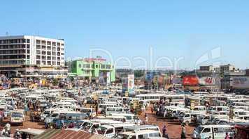 Busbahnhof Kampala
