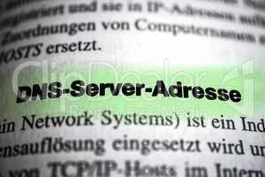 DNS Server Adresse