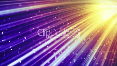 glowing rays and sparks loopable background