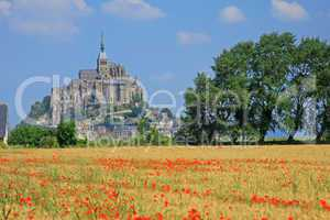 Mont Saint Michel, Bretagne, Normandie, Frankreich