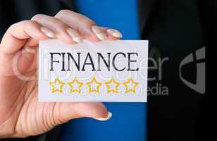 Finance - Five golden Stars