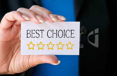 Best Choice - Five Stars