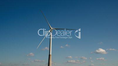 Three huge propellers of the windmill FS700 4K Odyssey7Q