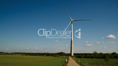 The wide field where the windmill is located FS700 4K Odyssey7Q