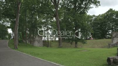 The historic place where old castle remains is located in Estonia FS700 4K RAW Odyssey 7Q