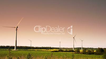 Five windmills not moving 4K FS700 Odyssey 7Q