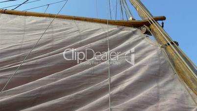 Raising of the big viking flag ready to sail GH4 4K UHD