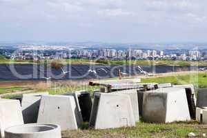 View of the city Yehud .