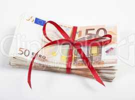 ein buendel euro scheine