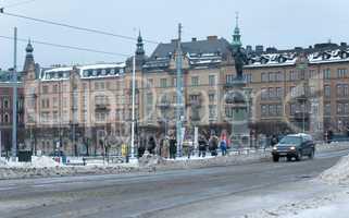 the urban landscape of Stockholm