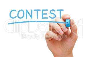 Contest Blue Marker
