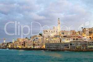 Jaffa port.