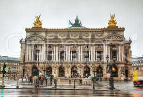 The Palais Garnier (National Opera House) in Paris, France