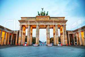 Brandenburg gate in Berlin, Germany