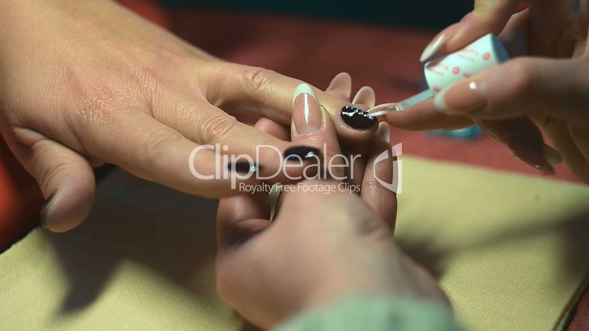 Paint nails in the salon royalty free video and stock footage for 20 20 nail salon