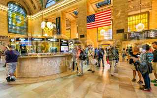 NEW YORK CITY - MAY 20: Interior of Grand Central Station on May