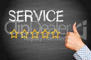 Great Service - Five Stars