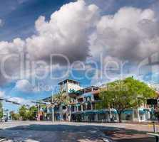 Miami cityscape on a sunny day