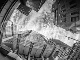 LONDON - SEP 29: The Shard skyscraper designed by Italian archit
