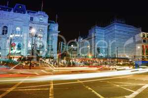 LONDON - SEPTEMBER 27, 2013: Tourists walk in Piccadilly area at