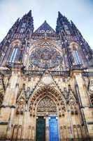 Saint Vitus cathedral close up
