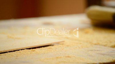 Wood planer, carpentry