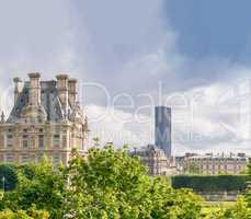 Tuileries Gardens in Paris