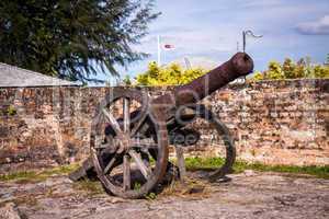 Old nineteenth century cannon