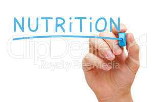 Nutrition Blue Marker
