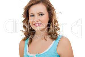 Natural portrait of a pretty young woman