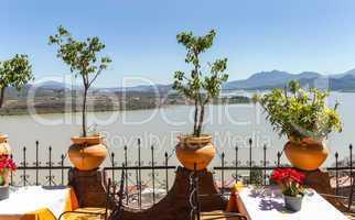 View of Lake Patzcuaro