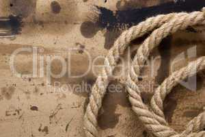 Industrial thick rope