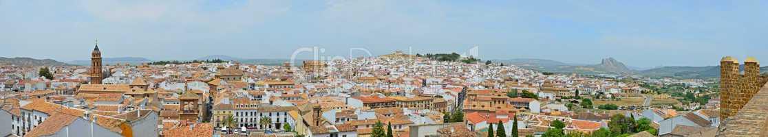 Panorama of Antequera