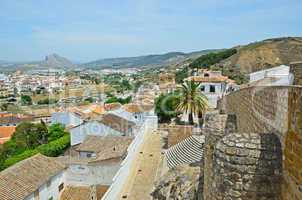 Spring view of Antequera