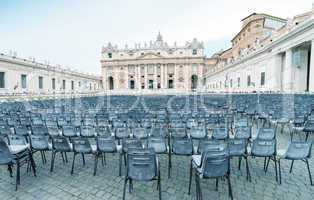St Peter Square in Vatican City