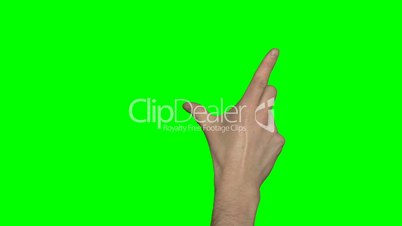 Greenscreen Hand Mann (4:2:2, 30p)