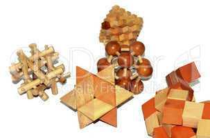 Wooden logic toys