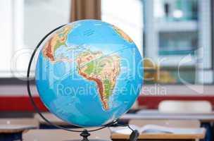 School Earth Globe