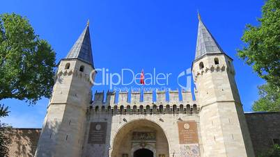 Topkapi Palace, historical ramparts