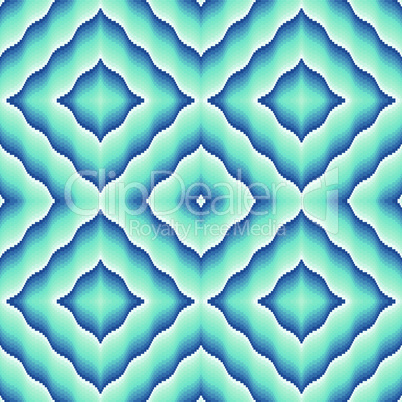 Light blue ornamental seamless pattern