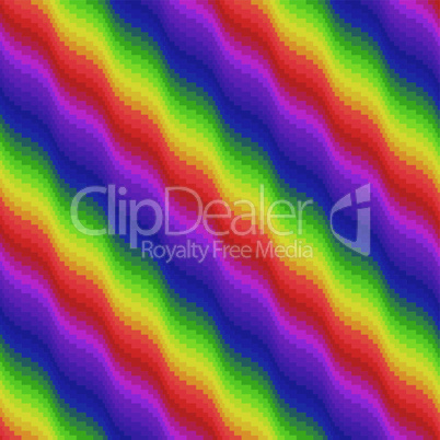 Multicolor ornamental seamless pattern