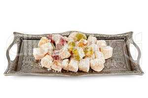 Turkish Delight on a tray