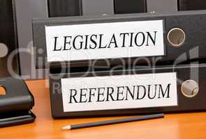 Legislation and Referendum