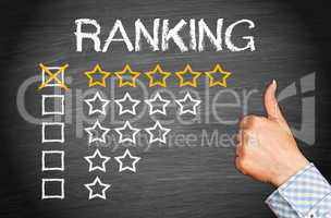 Excellent Ranking - Five Stars