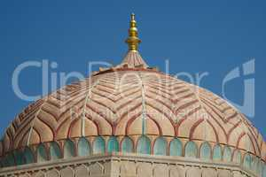 Dome at Amber Fort