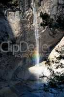 Yosemite Falls rainbow 4