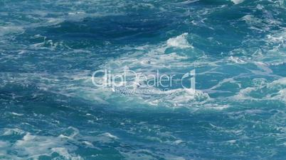 View of Wavy Water Surface, closeup