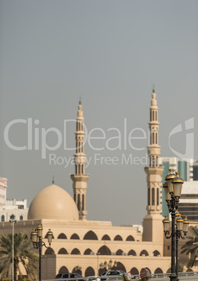 city view of Sharjah