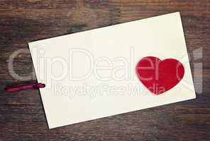 greeting card with space for you text