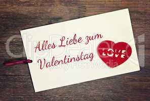 greeting card - valentines day